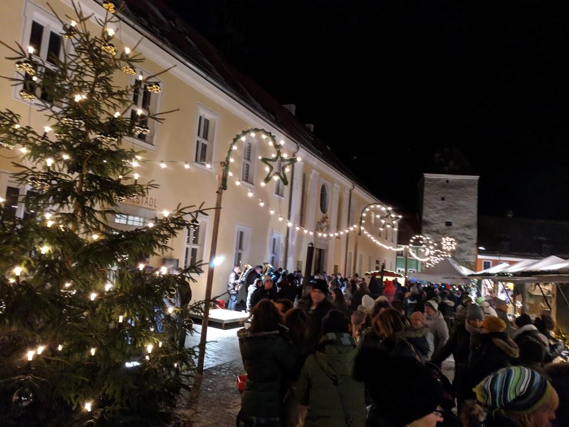 Weihnachtsmarkt im Spital